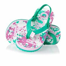 Animal Flip Flops - Animal Toddler Doodle Flip Flops - Ocean Green