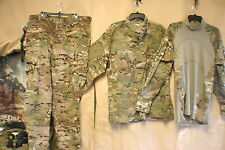 MULTICAM OCP SHIRTS PANTS BATTLE SHIRTS & 2 PC SETS FIRE INSECT RESIST NU & USED