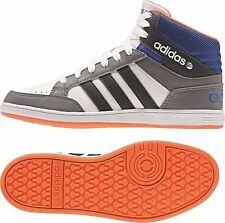 Adidas HOOPS MID Shoes trainers trainers NEO white-grey-blue NEW