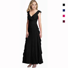 Elegant Fashion Full Length Tiered Formal Evening Party Dress Ball Gown ed8569