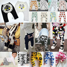 Kids Boy Girls Bottom Leggings Clothes Baby Toddler Harem Pants Trousers Outfits