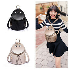 Vintage Women Backpack Travel PU Leather Handbag Rucksack Shoulder School Bag G