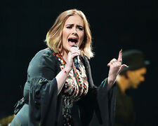 Adele Live in Concert Shot Poster or Photo