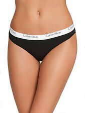 Calvin Klein Women's Standard Ck One Cotton Thong Panty -QF1368