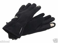 New The North Face Womens Black Etip Pamir Windstopper Gloves XS