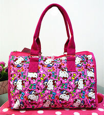 Hellokitty Canvas Shopping Shoulder Handbag Bag Tote HandBag 6303b