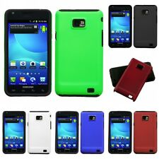 For Samsung Galaxy S2 i9100 Hybrid 2-Piece Hard Soft Case Phone Cover Skin