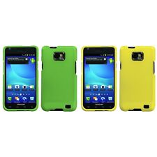 For Samsung Galaxy S2 i9100 Snap-On Hard Case Phone Cover Skin Accessory
