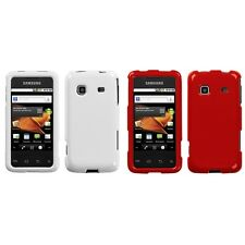 For Samsung Galaxy Prevail M820 Rigid Plastic Hard Snap-On Case Phone Cover