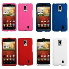 For LG Spectrum VS920 Rigid Plastic Hard Snap-On Case Phone Cover