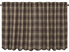 Dawson Star Tiers Pair in Woodland Brown and Khaki Plaid, Choice of Two Sizes