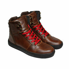 Creative Recreation Adonis Mens Brown Leather Sneakers Shoes