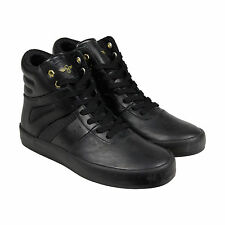 Creative Recreation Moretti Mens Black Textile High Top Sneakers Shoes