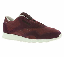 NEW Reebok CL Nylon Y Shoes Men's Sneakers Trainers Violet AR0898 Leisure