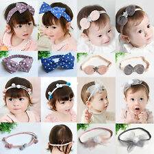 Toddler Cute Lace Flower Hair Band Accessories Headwear Kids Baby Girl Headband