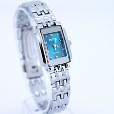 2017 Brand New Cute Square Lady Analog Stainless Steel Quartz Wristwatch SN51