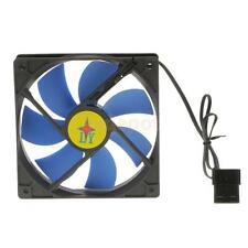 Cooler PC Case Fan 120mm 12cm 4 Pin Cooling Cooler Ultra Quiet Bearing