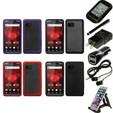 For Motorola Droid Bionic XT875 TPU Hard Case Skin Phone Cover Accessories