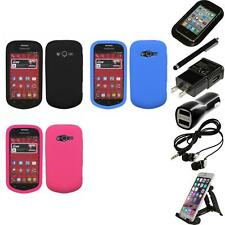 For Samsung Galaxy Reverb M950 Silicone Skin Rubber Soft Case Cover Accessories
