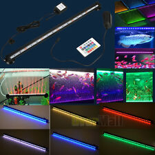 Color Changing LED Air Bubble Light Underwater Submersible Aquarium Fish Tank US