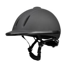 S/M/L/XL Black Horse Riding Hat/ Ventilated Adjustable Equestrian Helmet