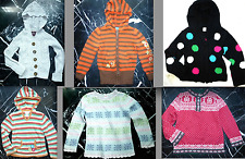 L.L. BEAN GYMBOREE PLACE OLD NAVY CARTER'S Girls Hooded CARDIGAN Sweater 5 6