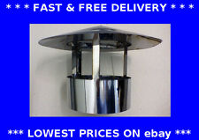 Roof cowl, chimney cap, ducting, rain hat, hood, stainless steel flue system