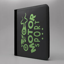 Saying Quote Motor Sport Flip Case Cover For Apple iPad - P544