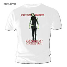 Official T Shirt Marilyn Manson Goth ANTICHRIST Superstar White All Sizes