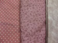 F-2017 3-39, 40 or 41 - (your choice) 1 piece of Cotton Fabric-Mauve, pink tones