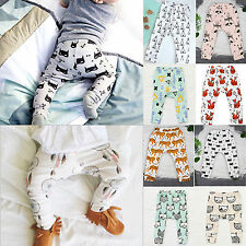 Cute Toddler Baby Boys Girls Harem PP Pants Casual Leggings Bottom Trousers 0-4T