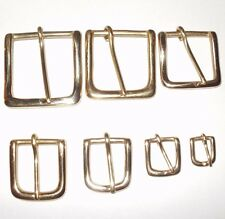 SOLID CAST BRASS BELT STRAP WEST END BUCKLE 7 SIZES