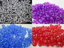 1000 - 6mm Faceted Rondelle Beads Made in USA - Color Choice