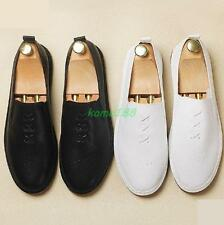 Spring Loafer Mens Driving Shoes flat slip on moccasin gommino comfy shoes