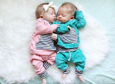 New Baby Girls Boys Green Pink Clothing Set Hoodie + Pants 2 Pcs/Set Outfit