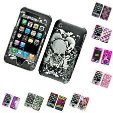 For Apple iPhone 3G / 3G S Hard Phone Case Design Rubberized Snap-On Cover