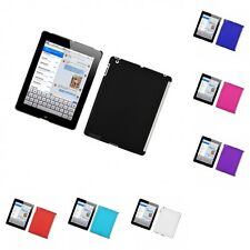 For Apple iPad 2 Hard Snap-On Rubberized Phone Skin Case Cover
