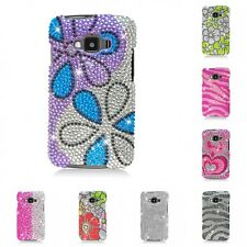 For Samsung Rugby Smart i847 Case Diamond Bling Luxury Fashion Cute Hard Cover
