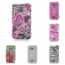 For Samsung Galaxy Victory 4G Case Diamond Bling Luxury Fashion Cute Hard Cover