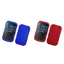 For BlackBerry Curve 9315 Hard Snap-On Rubberized Phone Skin Case Cover