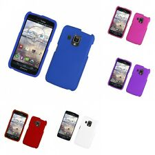 For Pantech Perception Hard Snap-On Rubberized Phone Skin Case Cover