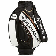 """TAYLORMADE GOLF MENS TOUR STAFF BAG - NEW CARRY TOUR PREFERRED TP 9.5"""" TOP 2016"""