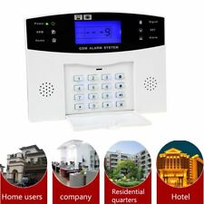 Home Office Security GSM Alarm System with LCD Call Intruder Burglar Alarm HT