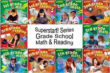 Superstart Math Reading Grade School Series PC Windows XP Vista 7 32-Bit Sealed
