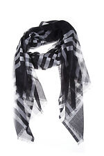Burberry Scarf Scarves Foulard % MADE IN ITALY Woman Blacks 4032917R8570010B-