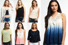New Womens Superdry Tops Various Styles & Colours