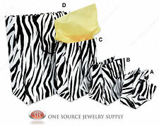 Gift Bags Zebra Print Tote Party Supplies Paper Gift Bags Holiday Bags Wedding