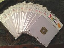 Pick your choice of ~ SIZZIX EMBOSSING MONOGRAM FOLDERS ~ Lots Stencil Cuttlebug