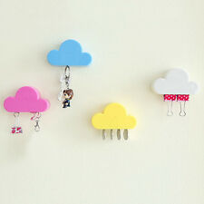 Cute Cloud Shape Magnetic Magnets Wall Key Holder Keys Wall Mounted Rack Storage