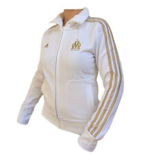 Adidas OLYMPIQUE MARSEILLE Sports Jacket Ladies Size XS OM Firebird
